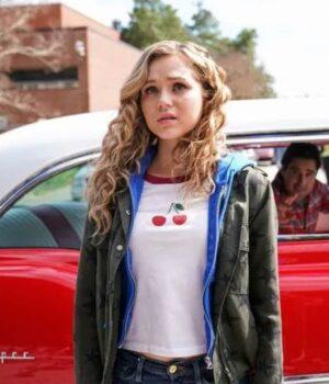Stargirl-Courtney-Whitmore-Dark-Green-Jacket 2