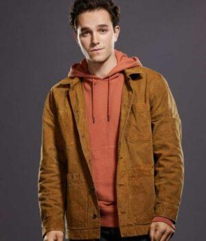 Stargirl-Rick-Tyler-Brown-Cotton-Jacket-Front-Image