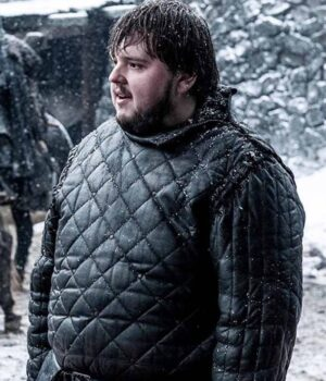 game of thrones samwell tarly Black-Quilted-Coat