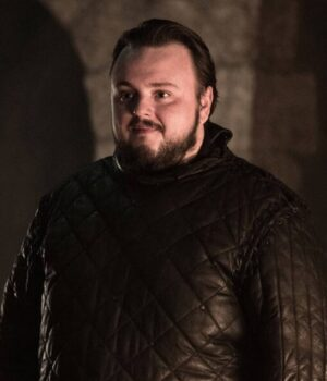 game of thrones samwell tarly season 1 Black-Quilted-coat
