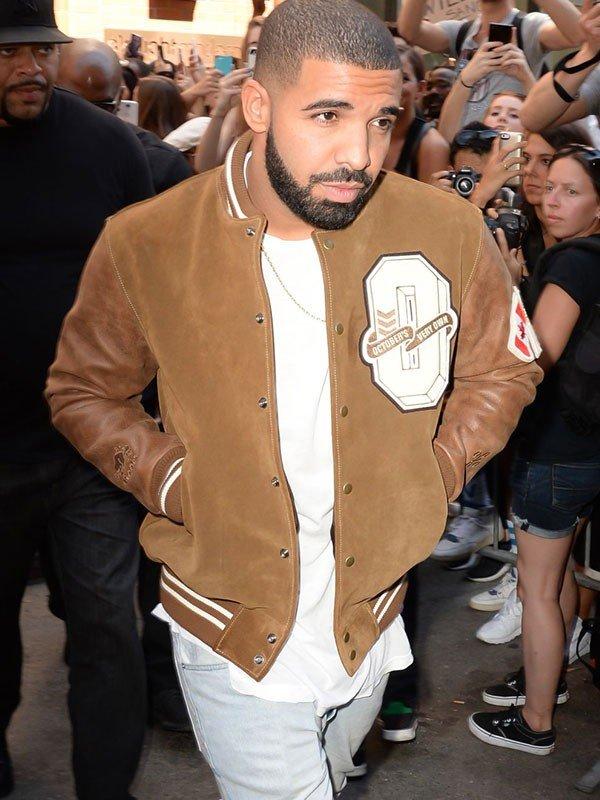 Drake-Suede-Leather-Varsity-Jacket