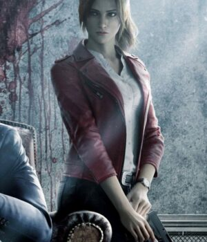 Resident-Evil-Infinite-Darkness-Claire-Redfield-Red-Leather-Jacket-Image