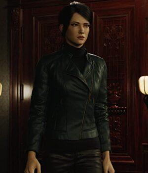 Resident-Evil-Infinite-Darkness-Shen-May-Black-Jacket-Front