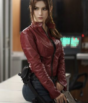 Resident-Evil-Infinite-Darkness-Stephanie-Panisello-Red-Jacket-Front
