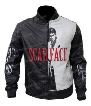 Scarface Al Pacino Tony Montana Bomber Jacket