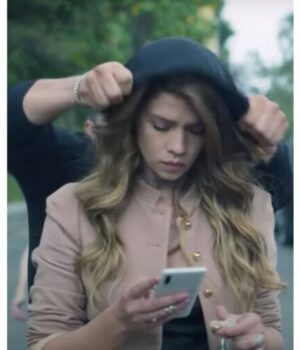 Who Killed Sara S02 Elisa Pink Wool Jacket