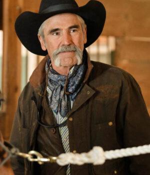 Yellowstone S03 Lloyd Pierce Brown Cotton Jacket
