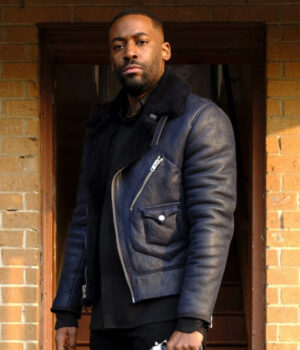 24 Legacy Bashy Isaac Carter Black Leather Jacket