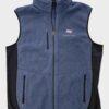 Billions Bill Stearn Axe Capital Blue Cotton Vest Front