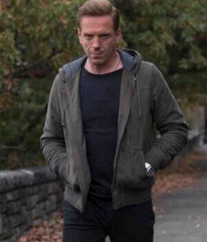 Billions Bobby Axelrod Cotton Grey Hooded Jacket