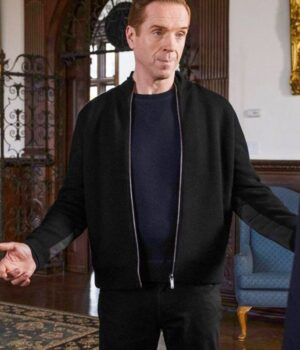 Billions S05 Bobby Axelrod Black Fleece Jacket 2