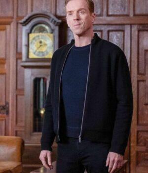 Billions S05 Bobby Axelrod Black Fleece Jacket