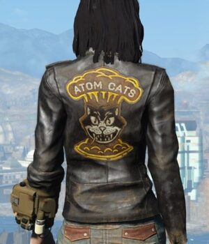 Fallout 4 Atom Cats Black Jacket