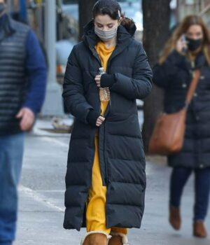 Only Murders In The Building Mabel Mora Black Hooded Puffer Coat