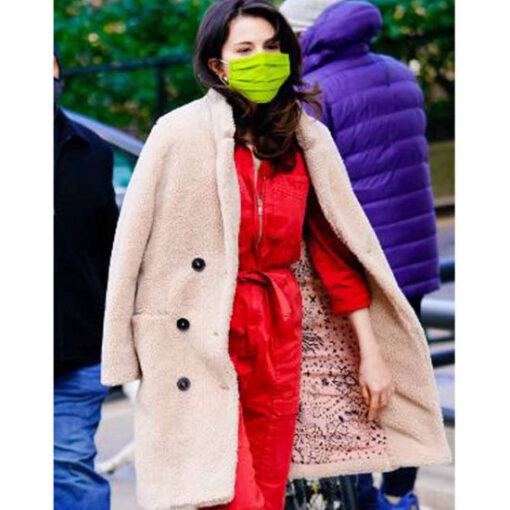 Only Murders In The Building Mabel Mora Fur Mid Length Coat