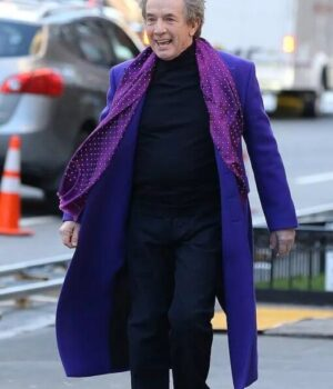 Only Murders in the Building Oliver Putnam Purple Trench Coat 2