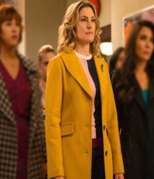 Riverdale Alice Cooper Yellow Wool-Blend Coat