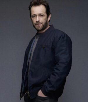 Riverdale Luke Perry Blue Cotton Jacket