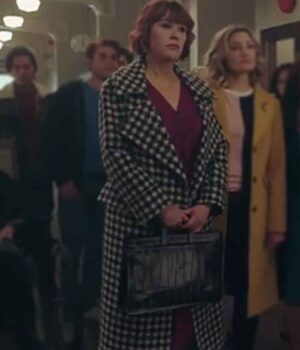 Riverdale Mary Andrews Black and White Trench Coat 2