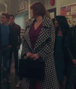 Riverdale Mary Andrews Black and White Trench Coat