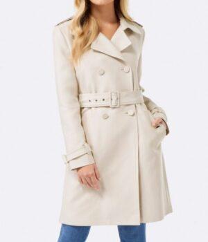 Riverdale S02 Betty Cooper Cream Wool Coat