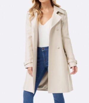 Riverdale S02 Betty Cooper Cream Wool Coat Front