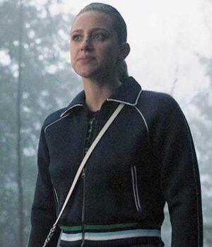 Riverdale S04 Betty Cooper Blue Fleece Bomber Jacket