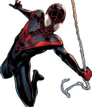 Spider-Man Miles Morales Kid Spider Man Leather Costume Jacket