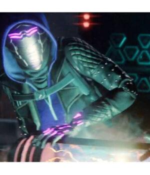 Spider-Man Miles Morales Tinkerer Leather Black Jacket 2