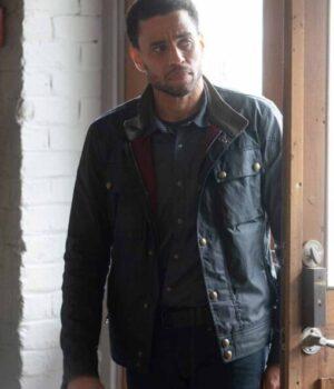 Stumptown S02 Detective Miles Hoffman Black Leather Jacket