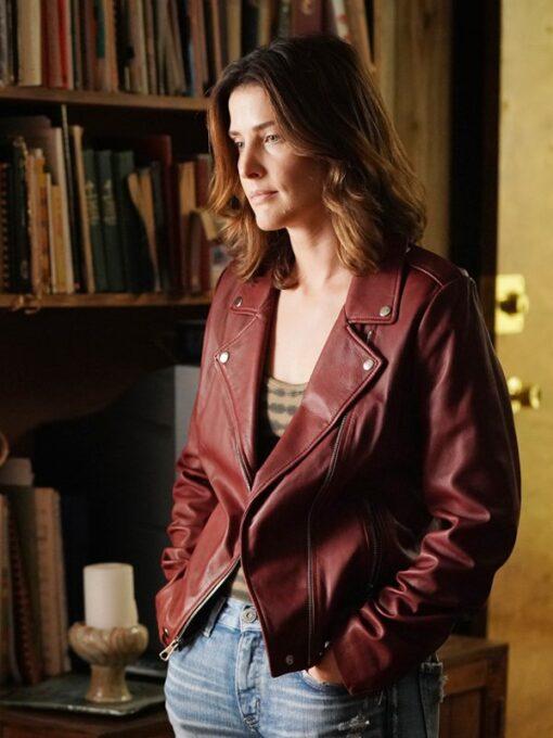 Stumptown S02 Dex Parios Red Biker Leather Jacket 2