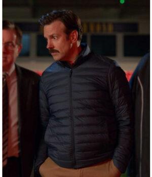 Ted Lasso Jason Sudeikis Black Puffer Jacket